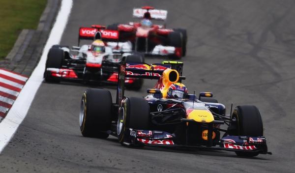 Mark Webber/Lewis Hamilton/Fernando Alonso