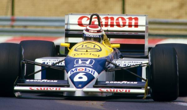 Nelson Piquet-GP Hungría 1986