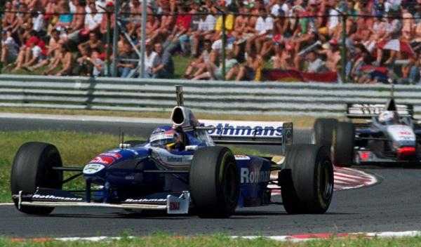 Jacques Villeneuve-GP Hungría 1997