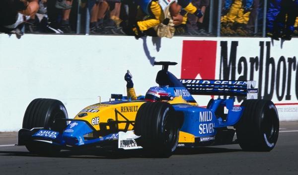 Fernando Alonso-GP Hungría 2003