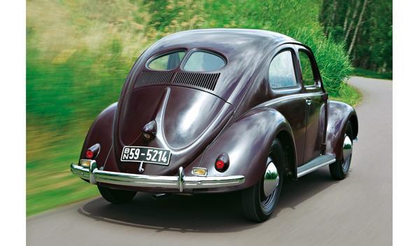 vw escarabajo trasera
