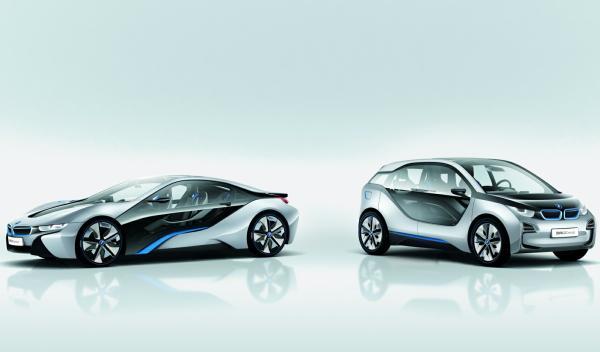 BMW i8 y BMW i3
