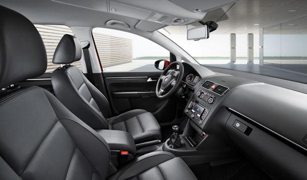 Interior del VW Touran