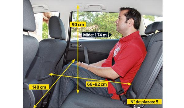 Mazda6 2.2 CRTD SW asientos