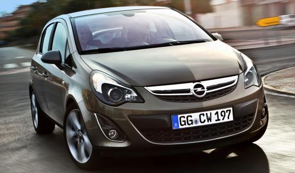 Opel Corsa marrón