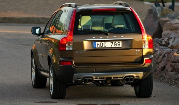 Volvo XC90 trasera