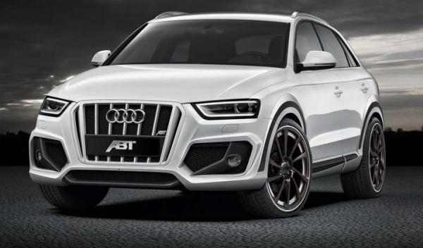ABT Audi Q3 frontal