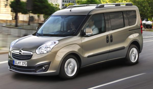 Opel Combo frontal