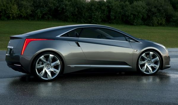 Cadillac ELR lateral
