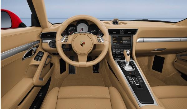 Nuevo Porsche 911 salón Frankfurt interior amplio