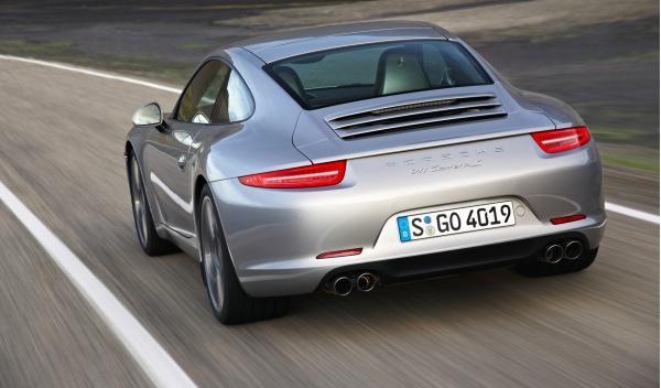 Nuevo Porsche 911 Carrera S salón Frankfurt trasera