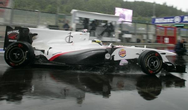 De la Rosa-GP Bélgica 2010
