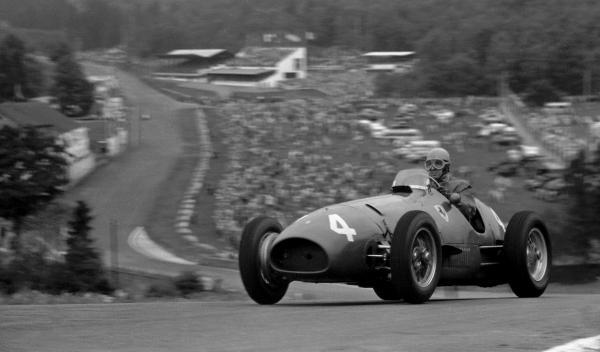 Alberto Ascari-GP Bélgica 1952