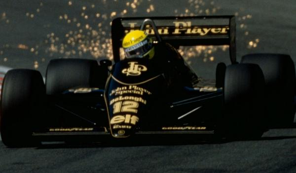 Ayrton Senna-GP Bélgica 1985