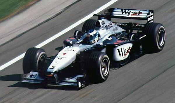 Mikka Häkkinen-GP Bélgica 2000