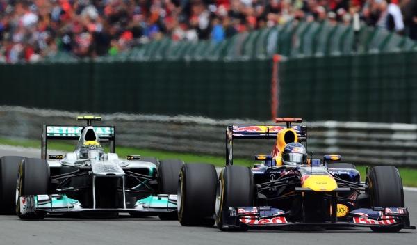Nico Rosberg-Mercedes/Sebastian Vettel-Red Bull