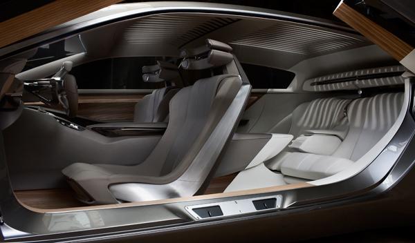 Peugeot HX1 interior