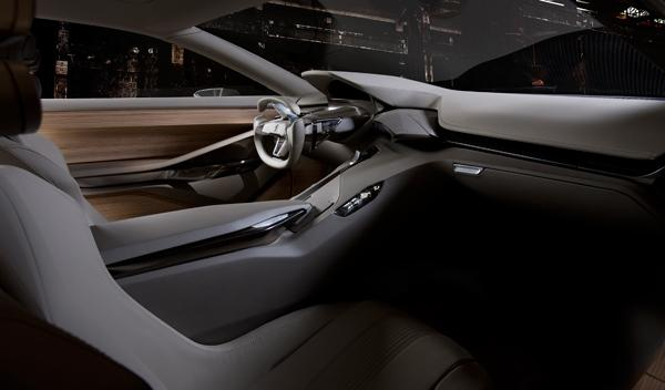 Peugeot HX1 interior volante