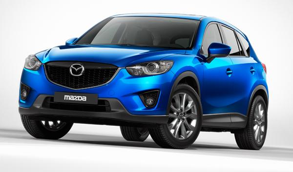 Mazda CX-5 lateral Salon de Francfort