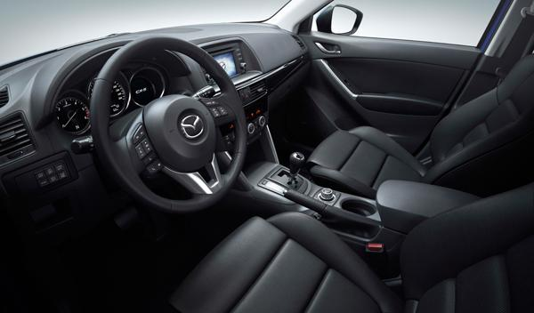 Mazda CX-5 interior Salon de Francfort