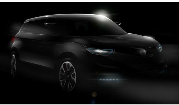 SsangYong XUV 1 Concept delantera