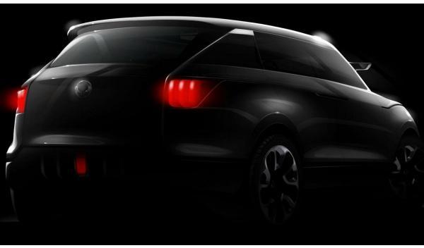 SsangYong XUV 1 Concept trasera