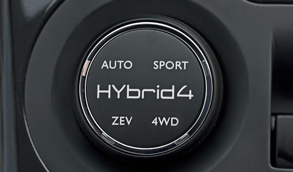 Peugeot 3008 Hybrid4, control de modos de funcionamiento