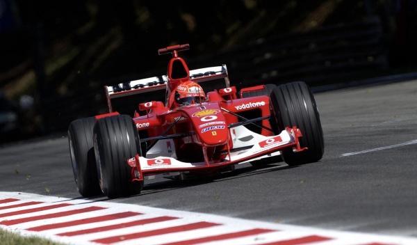 M. Schumacher-Ferrari-GP Italia 2003