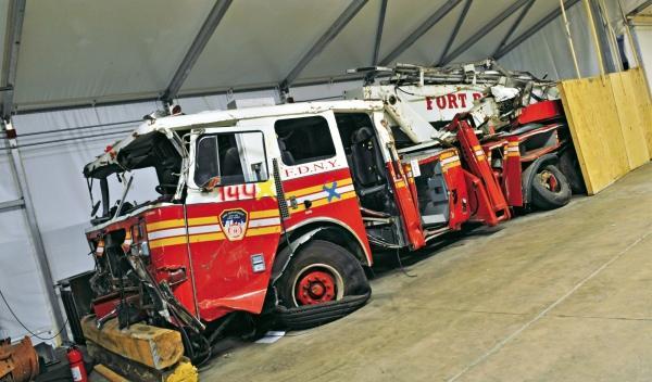 Camión de los Bomberos de Nueva York el 11-S