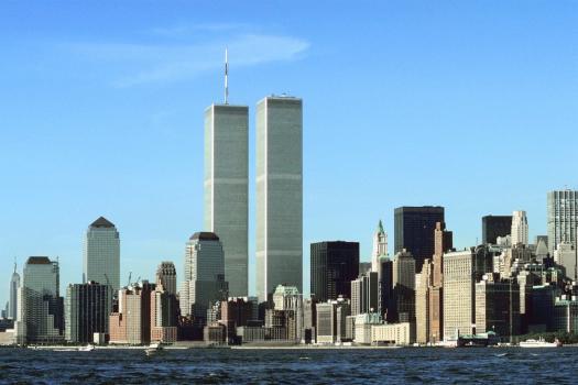 Skyline de Nueva York antes del 11-S