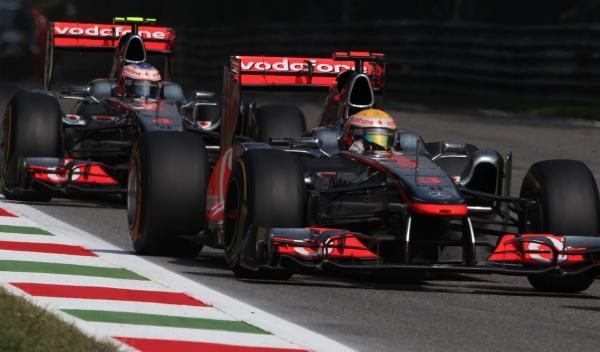 Lewis Hamilton/Jenson Button-McLaren