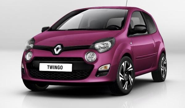 Frontal del nuevo Renault Twingo