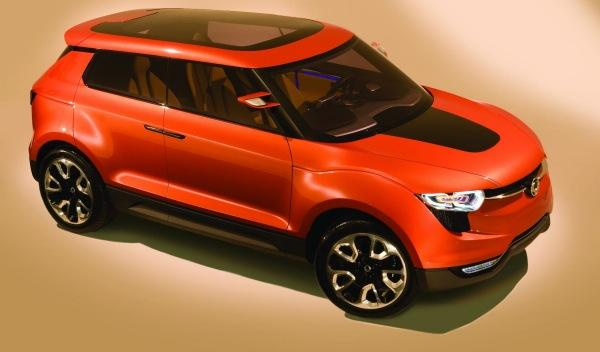 SsangYong- XIV1-concept-frontal
