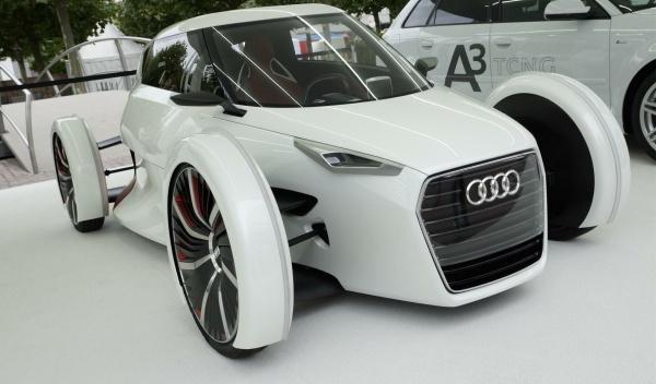 Audi Urban Concept electrico Salón Frankfurt 2011
