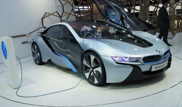 BMW i8  Salón Frankfurt 2011