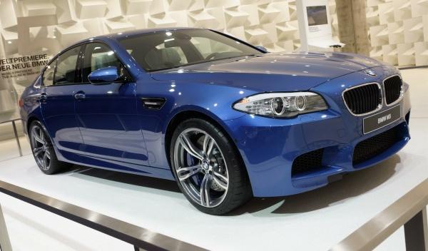 BMW M5 Salón Frankfurt 2011