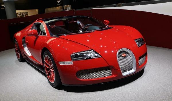Bugatti Gran Sport Salón Frankfurt 2011