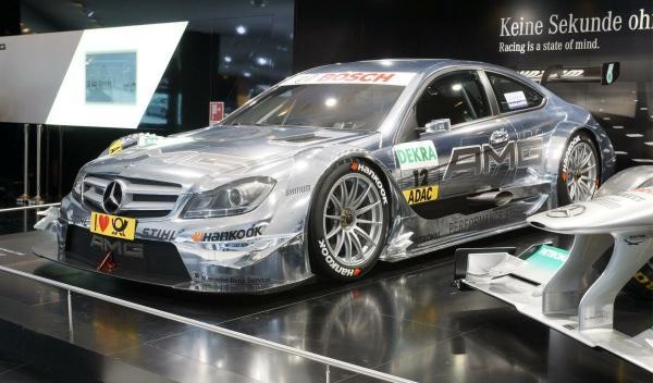 Mercedes C Sport  DTM 2012 Salón Frankfurt 2011