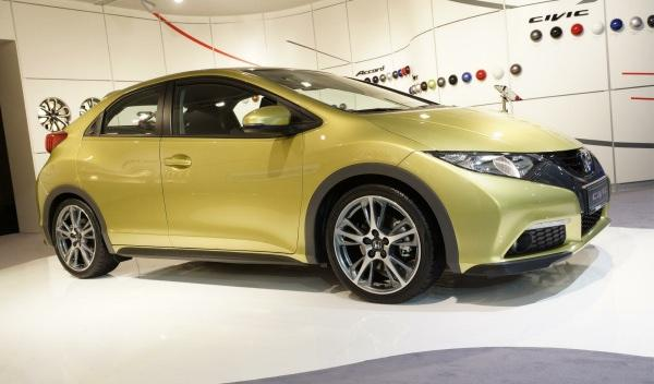 Nuevo Honda Civic Honda Salón de Frankfurt 2011