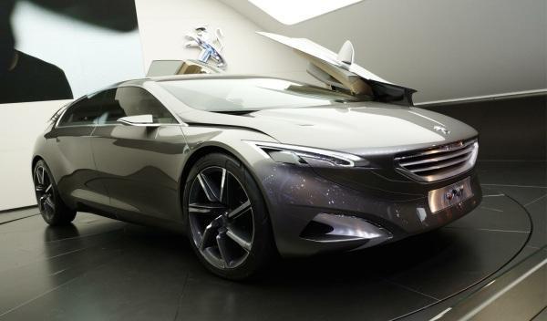 Peugeot HX-1  Salón de Frankfurt 2011