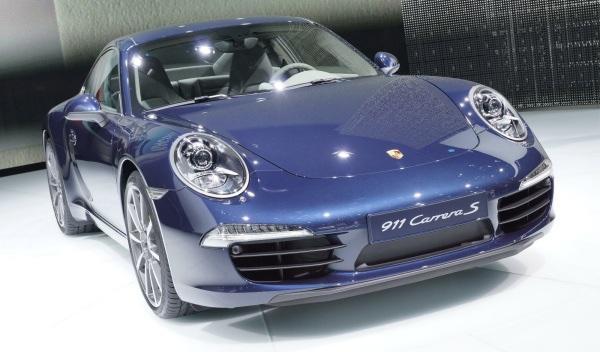 Porsche 911  Salón de Frankfurt 2011