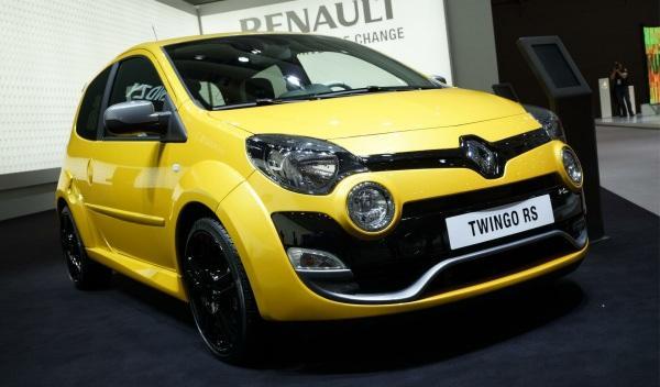 Nuevo Twingo RS  Salón de Frankfurt 2011