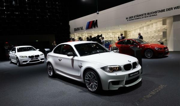 BMW serie 1 M Coupé Salón de Frankfurt 2011