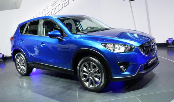 Mazda CX-5 exterior Salón de Fráncfort