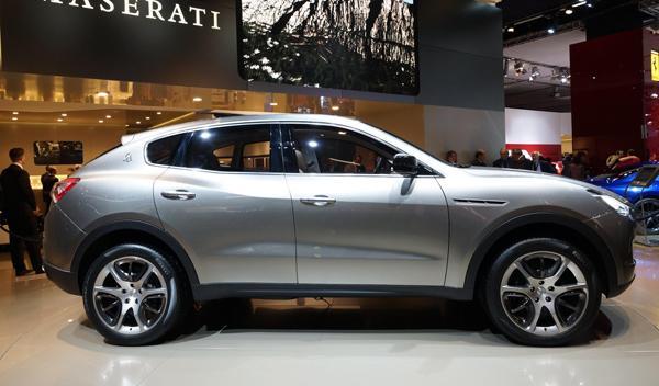 Maserati Kubang lateral Salón de Frankfurt 2011