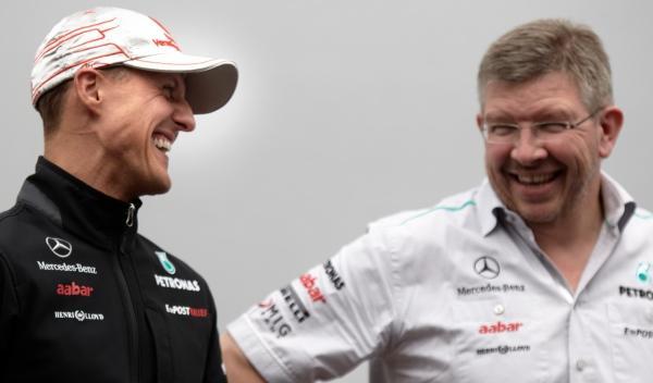 Michael Schumacher/Ross Brawn-Mercedes