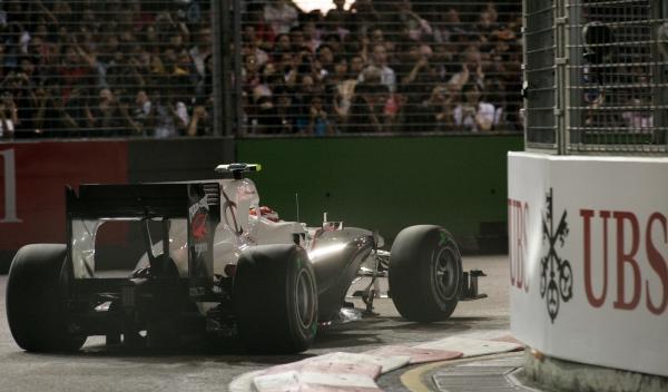 Kamui Kobayashi-Sauber-GP Singapur 2010