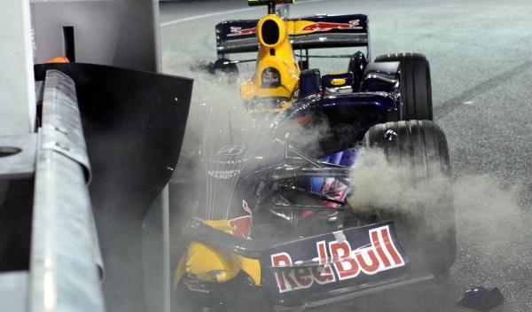 Mark Webber-Red Bull-GP Singapur 2008