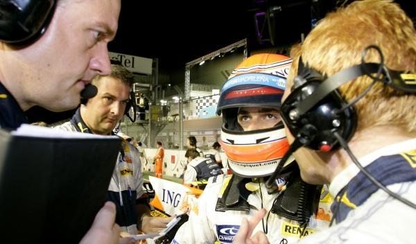 Nelson Piquet-GP Singapur 2008