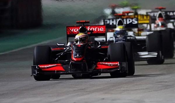 L. Hamilton-McLaren-GP Singapur 2009
